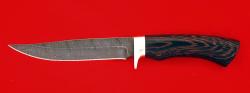 """Нож """"Багира"""", клинок дамасская сталь, рукоять венге"""