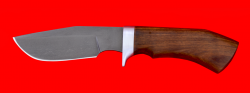"""Нож """"Охотничий"""", клинок сталь Х12МФ, рукоять орех"""