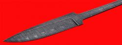 """Клинок для ножа """"Гладиатор"""", клинок дамасская сталь"""