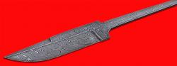 """Клинок для ножа """"Классик"""", клинок дамасская сталь"""