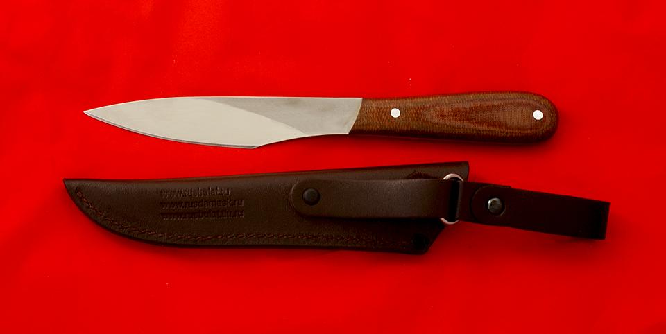 Ручка для ножа из текстолита
