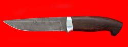 """Охотничий нож """"Марал"""", клинок дамасская сталь, рукоять венге"""