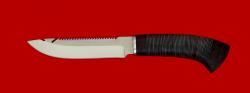 "Нож ""Рыбацкий"", клинок сталь 95Х18, рукоять кожа"