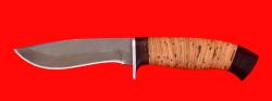 """Охотничий нож """"Вальдшнеп-2"""", клинок сталь Х12МФ, рукоять береста"""